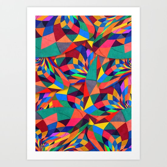 Touch Sensitive Art Print