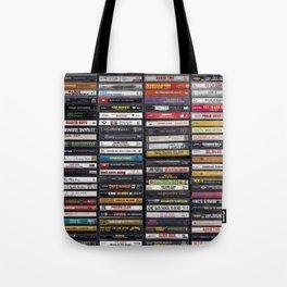 Old 80's & 90's Hip Hop Tapes Tote Bag