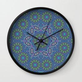Lace kaleidoscope Wall Clock