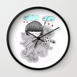 Z-TANGO GIRL Wall Clock