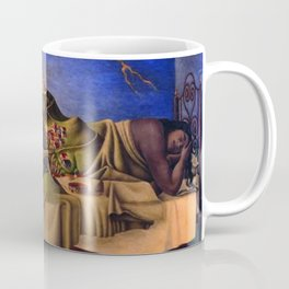 'The Dream of the Malinche' magical realism dream portrait painting by Antonio Ruiz Coffee Mug