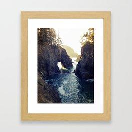 Natural Bridges Framed Art Print