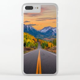 The Road To Telluride Clear iPhone Case