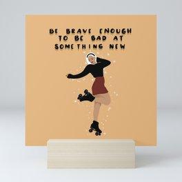 Rollergirl Mini Art Print