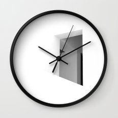 There. Macba, Barcelona Wall Clock