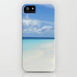 The Maldives' Blue iPhone Case