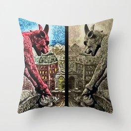 The Night Watch, A Paris Mythos by Jeanpaul Ferro Throw Pillow