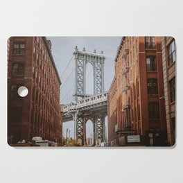 New York City X / Brooklyn Bridge Cutting Board