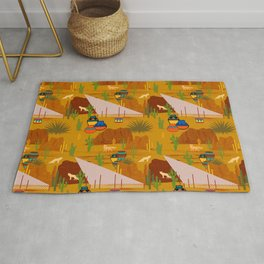 Desert Modernism-Southwest Culture and Architecture Rug