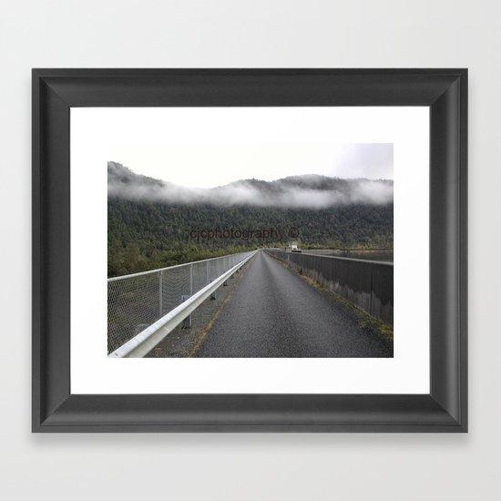 MacIntosh Dam Framed Art Print