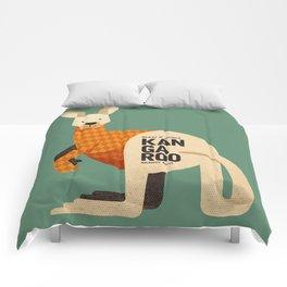 Hello Kangaroo Comforters