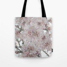 Almond Blossom Dots Tote Bag