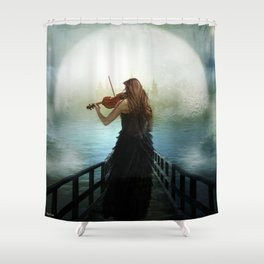 The Heavenly Hope Shower Curtain