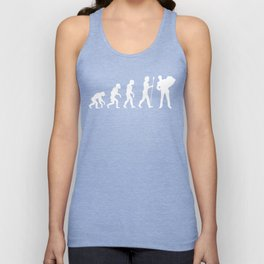 Accordion Player Evolution Unisex Tank Top