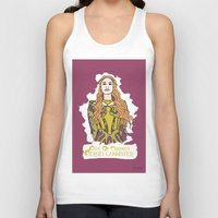 lannister Tank Tops featuring Cersei by JessicaJaneIllustration