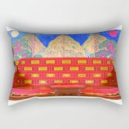 용상 the KOREAN royal throne Rectangular Pillow