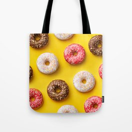 Donuts lovers Tote Bag