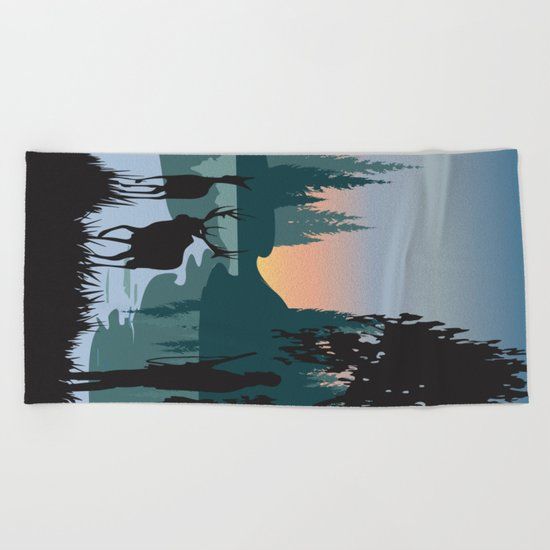 My Nature Collection No. 47 Beach Towel