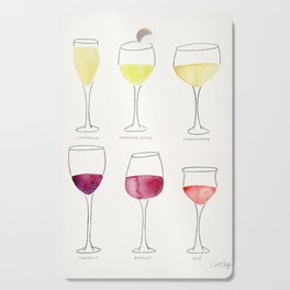 Wine Collection Cutting Board