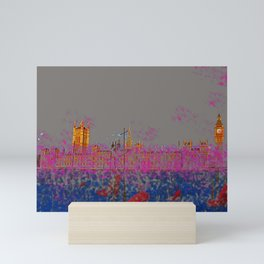 The Siege of the Parliament in May - shoes stories Mini Art Print