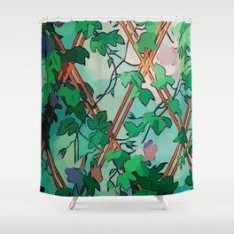 Enchant Botanical Dream Garden Shower Curtain