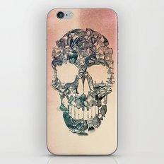 Skull Vintage iPhone & iPod Skin