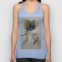 """The Beautiful Bird of Paradise"" Art by Warwick Goble Unisex Tank Top"