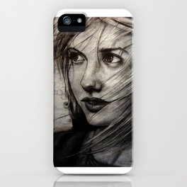 Undersketch of New Painting (VIDEO IN COMMENTS!!) iPhone Case