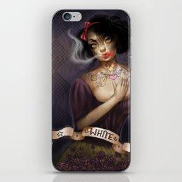 not so white, snow white iPhone Skin