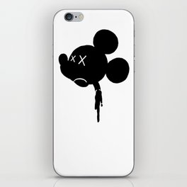 Mickey is Dead No.3 iPhone Skin