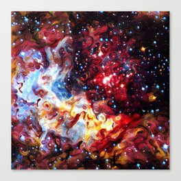 ALTERED Large Magellanic Cloud Canvas Print