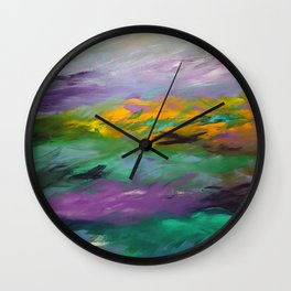 My Little Paradise Wall Clock