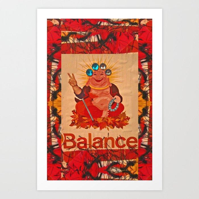 BALANCE! Art Print