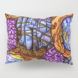 Crystal Collage Pillow Sham