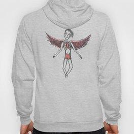 Floral Angel Hoody