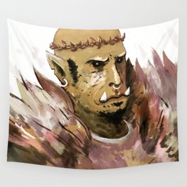 prince of feathers ork Wall Tapestry