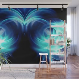 abstract fractals mirrored reacc82 Wall Mural