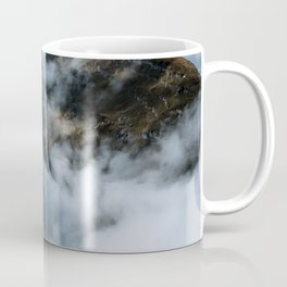 Moody Switzerland Mountain Peaks - Landscape Photography Coffee Mug