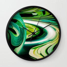 """Pathways"" Wall Clock"