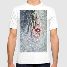 SOUS L'EAU Mens Fitted Tee White MEDIUM