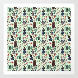 Good Omens Pattern #2  Art Print