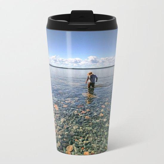 Lake Superior Metal Travel Mug