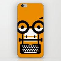 typewriter iPhone & iPod Skins featuring typewriter by oguzhan