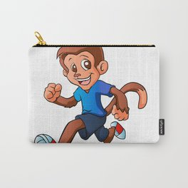 Running monkey . Carry-All Pouch