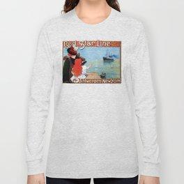Red  Star Line Antwerpen New York Long Sleeve T-shirt