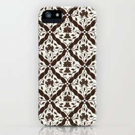 Batik Style 9 iPhone Case