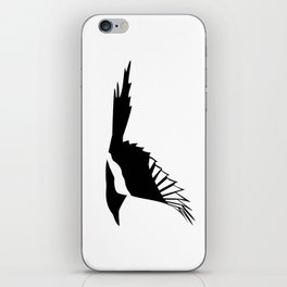 Pica Pica (magpie)  one Galery Giftshop iPhone Skin