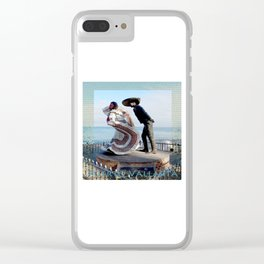Puerto Vallarta, Mexico Sculpture by the Sea Clear iPhone Case
