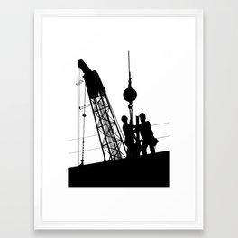 United Framed Art Print