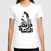 nietzsche T-shirts featuring Farid Al Natsheh / Friedrich Nietzsche by Sardine
